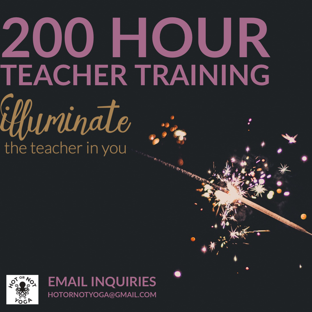 200 hour training flyer
